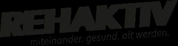 Das Logo im Kreis von Rehaktiv