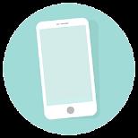 Diese Abbildung zeigt eine Smartphone