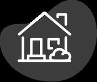 Diese Abbildung zeigt ein Haus